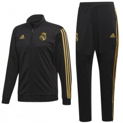 Real Madrid trainingsanzug 2019/20 schwarz - Adidas