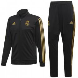 Survetement d'entrainement/presentation Real Madrid 2019/20 noir - Adidas