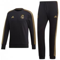Real Madrid sweat trainingsanzug 2019/20 schwarz - Adidas