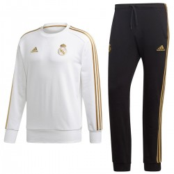 Survetement sweat d'entrainement Real Madrid 2019/20 - Adidas
