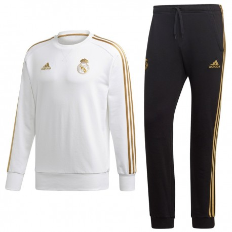 Tuta sweat allenamento Real Madrid 201920 Adidas