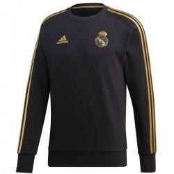 Sudadera negra de entreno Real Madrid 2019/20 - Adidas
