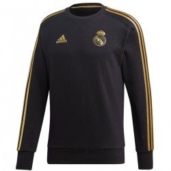 Sweat d'entrainement Real Madrid 2019/20 noir - Adidas