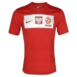 Camiseta de fútbol nacional de Polonia lejos 2012/2013 por Nike
