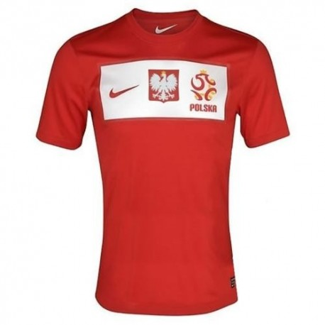 Poland National Soccer Jersey Away 2012/2013 by Nike