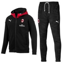 Survêtement presentation casual AC Milan 2019/20 noir - Puma