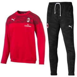 Survêtement de presentation crew sweat AC Milan 2019/20 - Puma