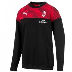 AC Mailand crew sweat Präsentation sweatshirt 2019/20 schwarz - Puma