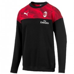 AC Milan casual crew sweat top 2019/20 black - Puma