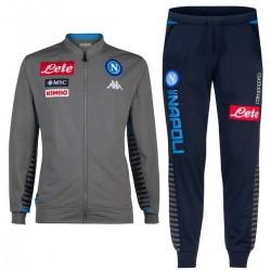 SSC Napoli Trainingsanzug 2019/20 grau/blau - Kappa