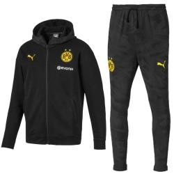 Borussia Dortmund casual presentation sweat tracksuit 2019/20 - Puma