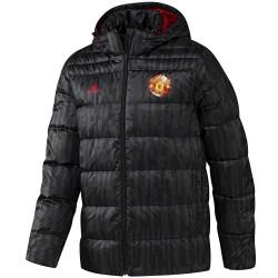 Chaqueta abrigo entreno Manchester United 2017/18 - Adidas