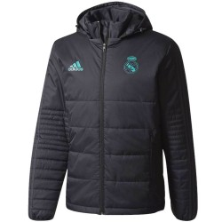 Real Madrid training bench padded jacket 2017/18 - Adidas