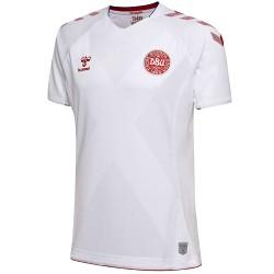Dänemark Fußball trikot Away 2018/19 - Hummel