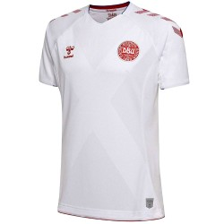 Denmark national team Away football shirt 2018/19 - Hummel