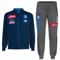 Tuta da rappresentanza SSC Napoli 2019/20 blu/grigio - Kappa