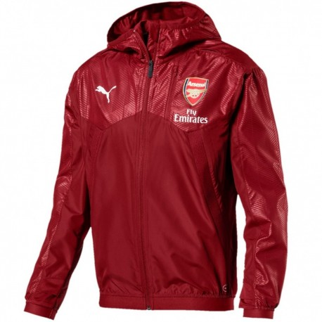 Arsenal training technical rain jacket 2018 - Puma
