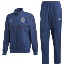 Survetement de presentation Bayern Munich 2019/20 bleu - Adidas