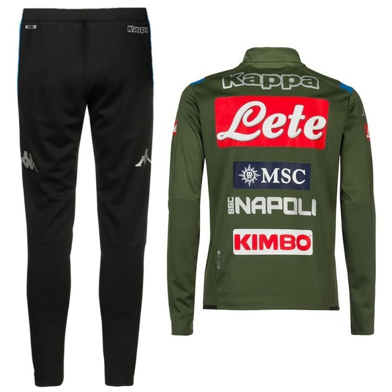 Ssc Napoli Green Training Technical Tracksuit 2019 20