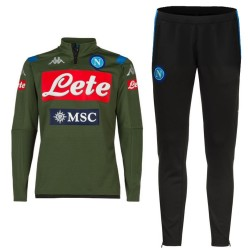 SSC Napoli Technical Trainingsanzug 2019/20 olive green - Kappa