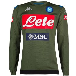 SSC Napoli players trainingssweat 2019/20 olive green - Kappa