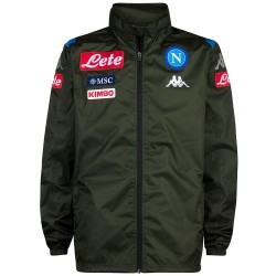 SSC Napoli green training rain jacket 2019/20 - Kappa