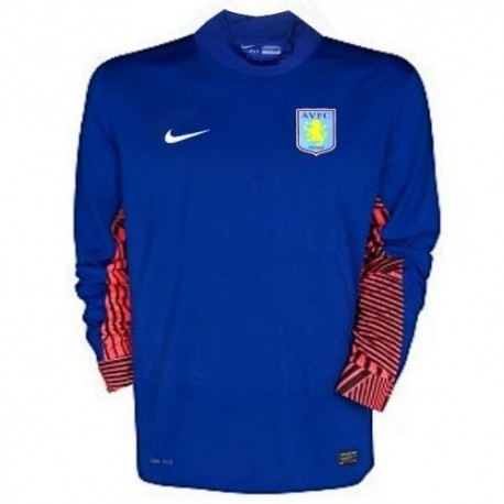 Aston Villa FC goalkeeper Jersey Home 11/12 Player Issue Nike racing
