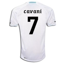 National Uruguay Away shirt 2010/12 Cavani 7 by Puma