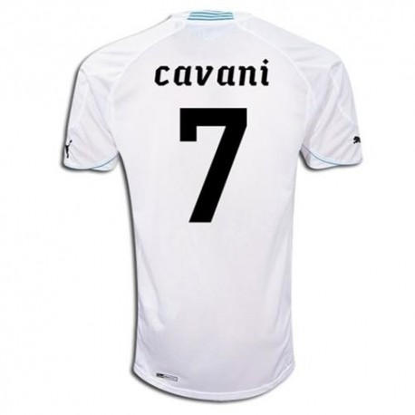 Maglia Nazionale Uruguay Away 2010/12 Cavani 7 by Puma