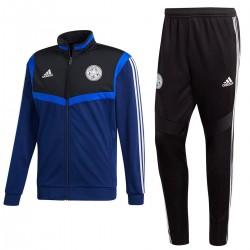 Chandal de entreno/presentación Leicester City 2019/20 azul/negro - Adidas
