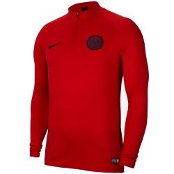 PSG sudadera tecnica roja de entreno 2019/20 - Nike