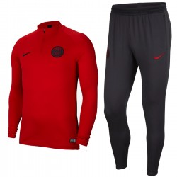Paris Saint Germain training tech tracksuit 2019/20 red/dark grey - Nike