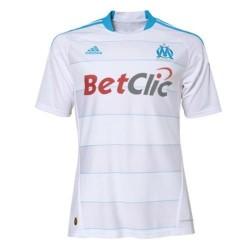 Olympique Marseille Home Jersey 10/11 Player Issue von Adidas