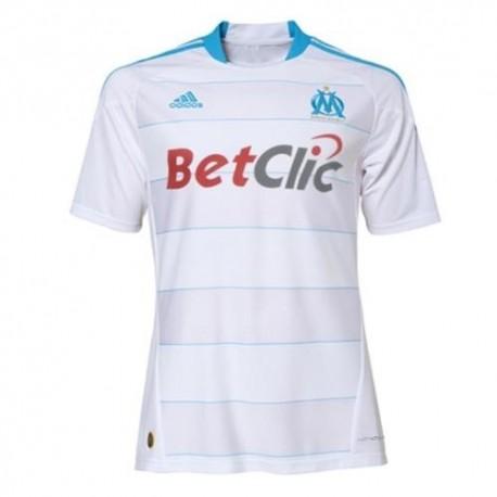 Olympique Marseille Home Jersey 10/11 jugador convalidable por Adidas