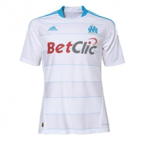 Olympique Marseille Home Jersey 10/11 Player Issue von Adidas