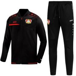 Bayer Leverkusen pre-match presentation tracksuit 2019/20 - Jako