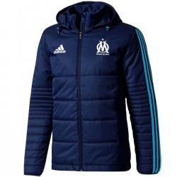 Doudoune bench d'entrainement Olympique Marseille 2017/18 - Adidas