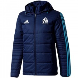 Olympique Marseille training bench padded jacket 2017/18 - Adidas