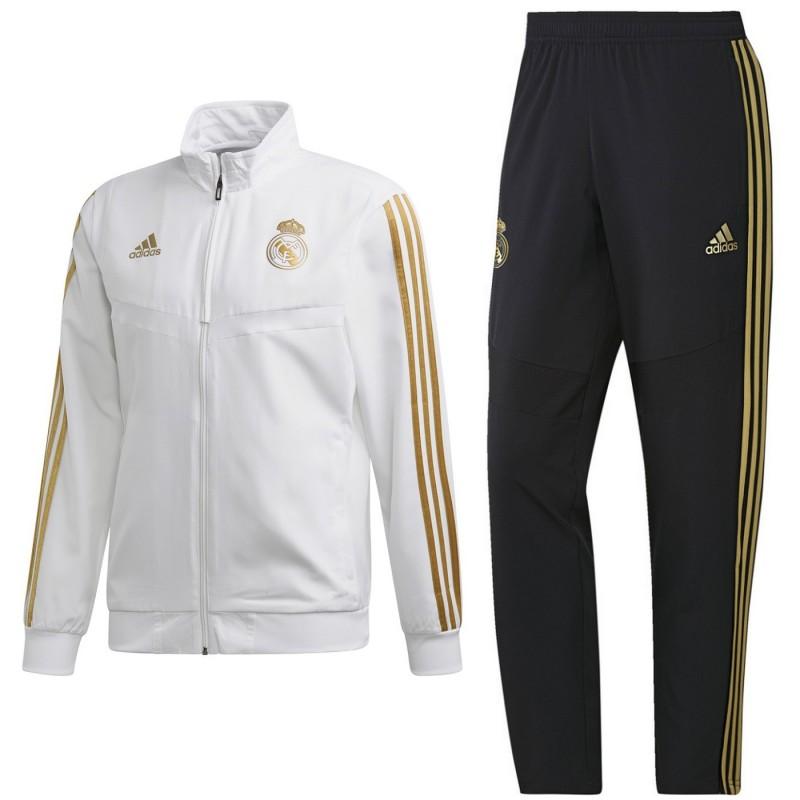 Real Madrid Presentation Tracksuit 2019 20 Adidas