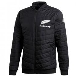 Chaqueta abrigo bomber Nueva Zelanda rugby 2019/20 - Adidas