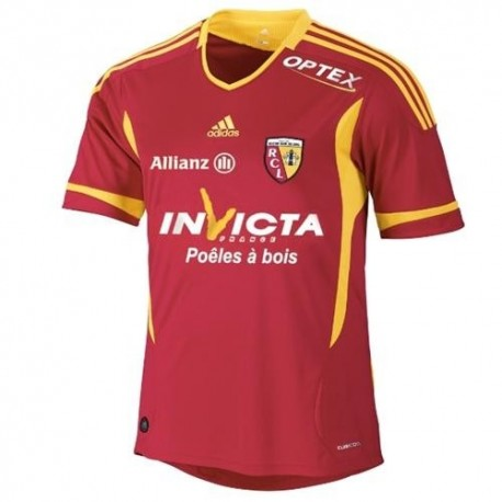 Lens Soccer Jersey 2011/12 Home-Adidas