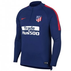 Atletico Madrid blue technical training sweatshirt 2018/19 - Nike