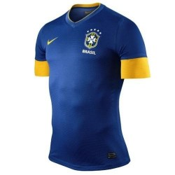 Brazil National Soccer Jersey Away 2012/13 Player race Issue by Nike