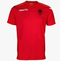 Albanien fußball trainingstrikot 2016 - Macron