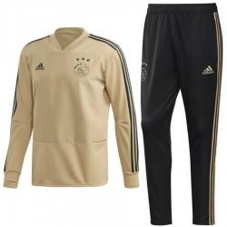 Survetement d'entrainement sweat Ajax Amsterdam 2018/19 - Adidas