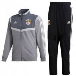Survetement de presentation Benfica 2019/20 gris - Adidas