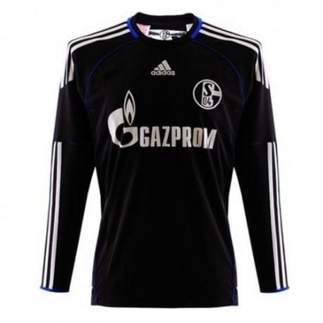 Schalke 04 Home Goalkeeper shirt 2010/12 by Adidas