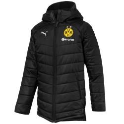 Doudoune bench d'entrainement BVB Borussia Dortmund 2018/19 - Puma