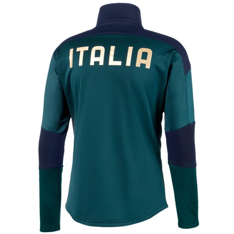 Azul Mismo participar  Italia chandal tecnico de entreno verde 2019 - Puma - SportingPlus.net