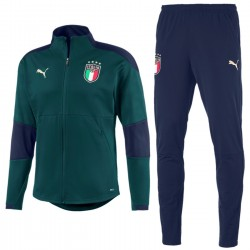 Italy green training bench tracksuit 2019 - Puma